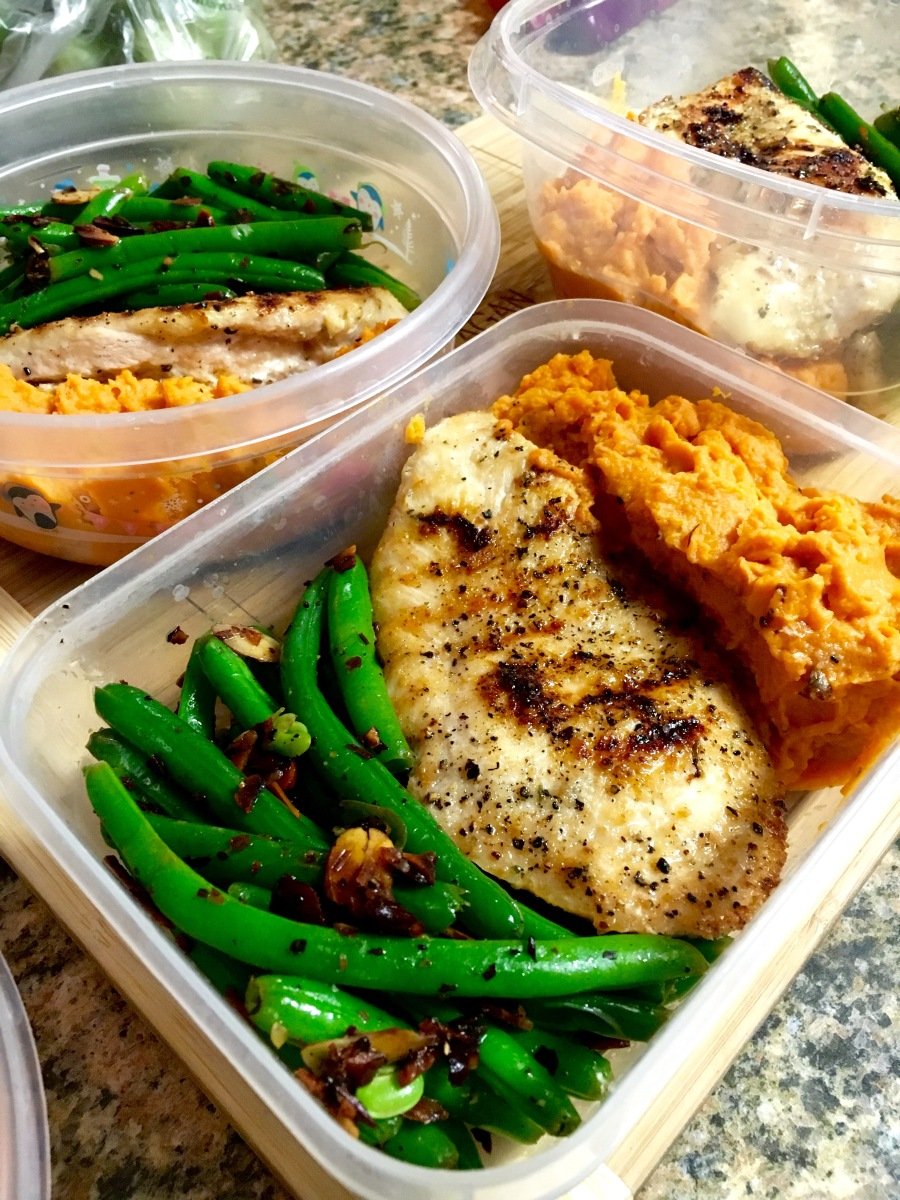 Athlete Meal Prep: My Go-To Meal