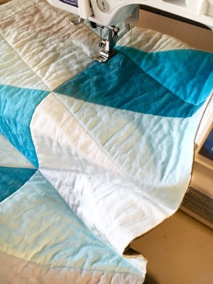 Quilt sew triangles